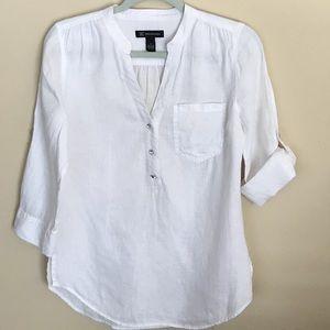 INC - Woman's Linen Top -4